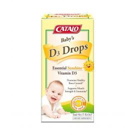 Baby's Vitamin D3 Drops-5